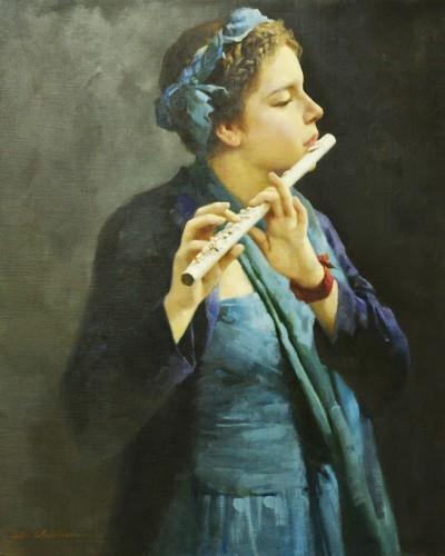Flute (24″x 20″)